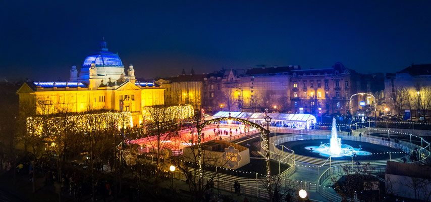 Zagreb Christmas Market Copyright Zagreb Tourist Board With Images Zagreb Croatia Tourist Christmas Destinations