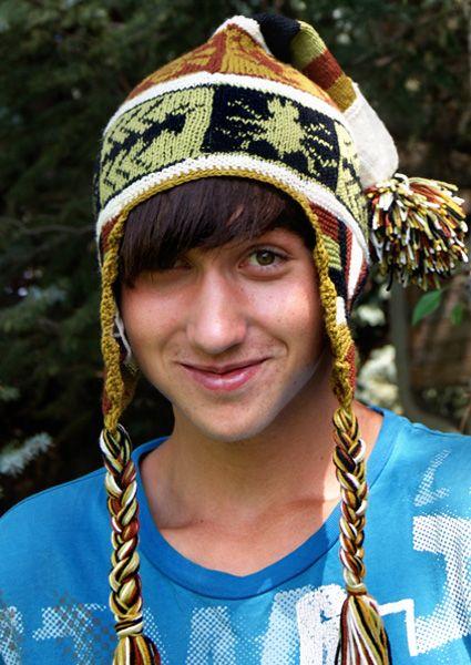 Free Knitting Pattern Creepy Critters Chullo Earflap Hat With Motifs