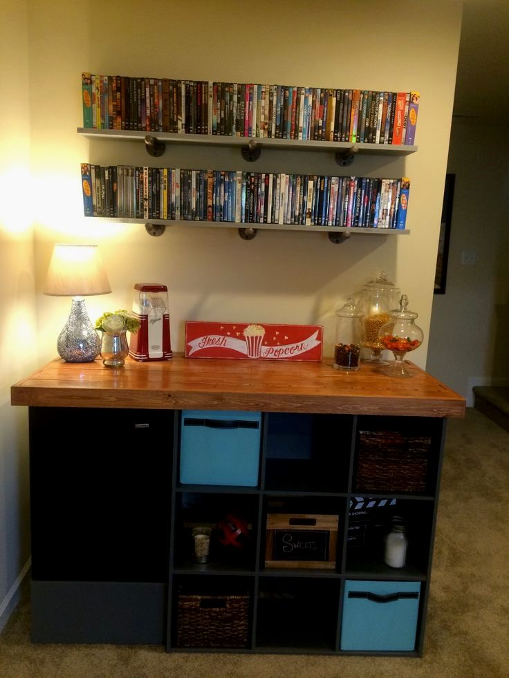Theater Room Concession Stand - DIY