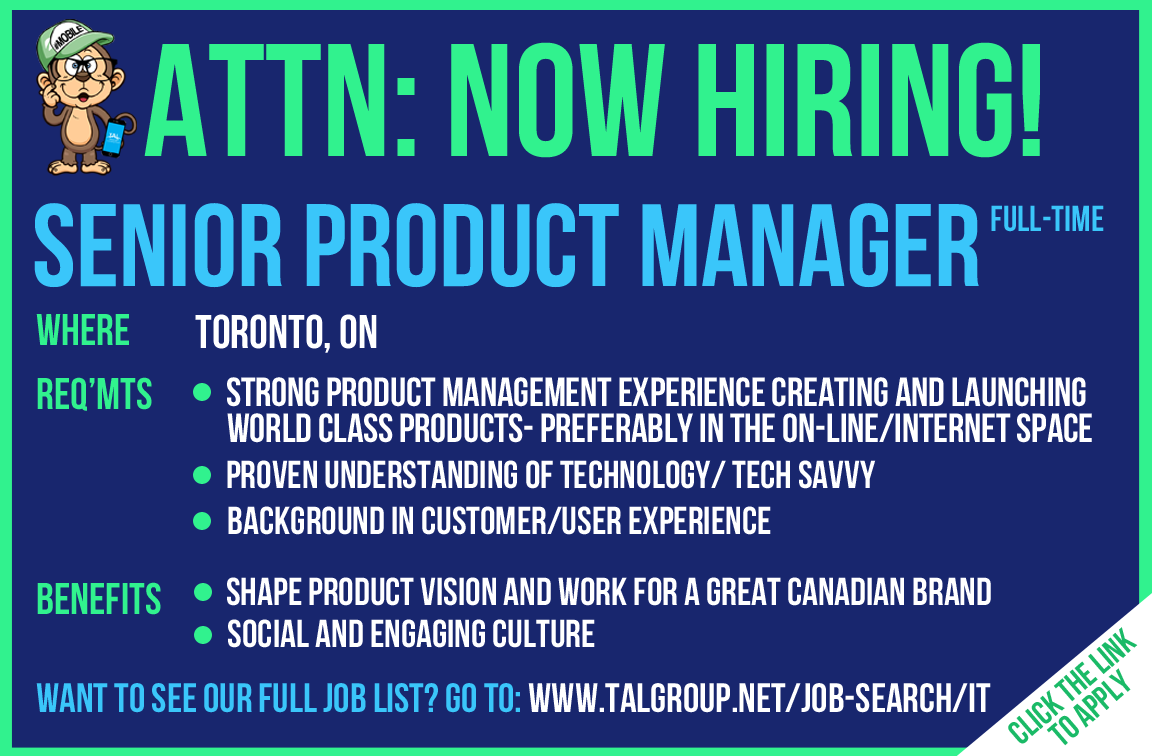 Hiring A Senior Product Manager FullTime In Toronto On This