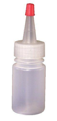 Vestil Btl Rc 1 Low Density Polyethylene Ldpe Round Squeeze Dispensing Bottle With Removable Red Cap 1 3 16 Diameter Dispensing Bottles Wash Bottles Vestil