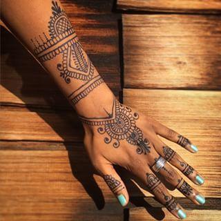 Brown Henna Dark Skin Google Search Henna Designs Henna Henna