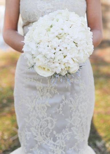 Winter White Bridal Bouquet By Trochtas Flowers Garden Center