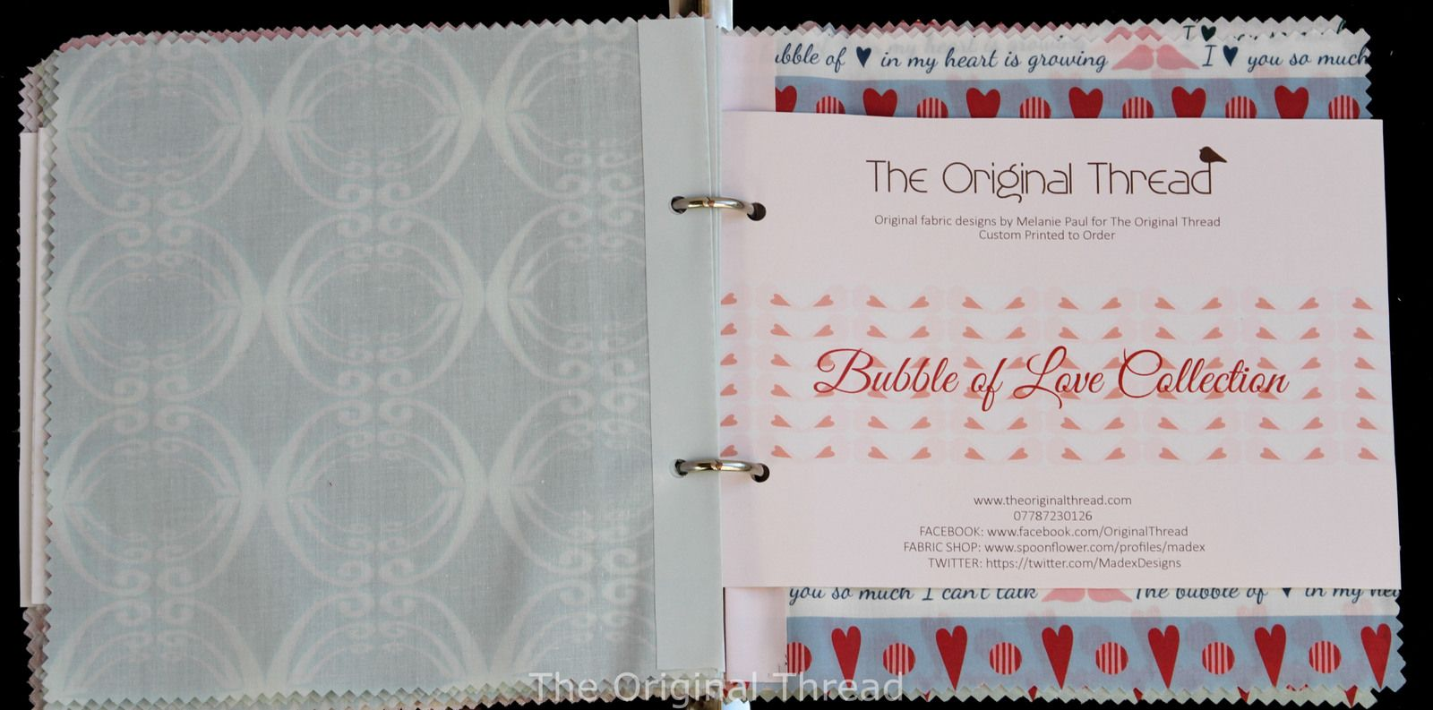 How to make your own Fabric Swatch Books