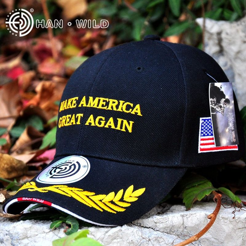 a7940956d71 US Make America Great Again Letter President Campaign Election Wheat USA  Flag Hats Bone Gorras For