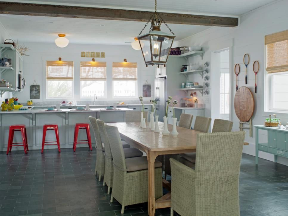 coastal-inspired design | coastal style, beach cottages and hgtv