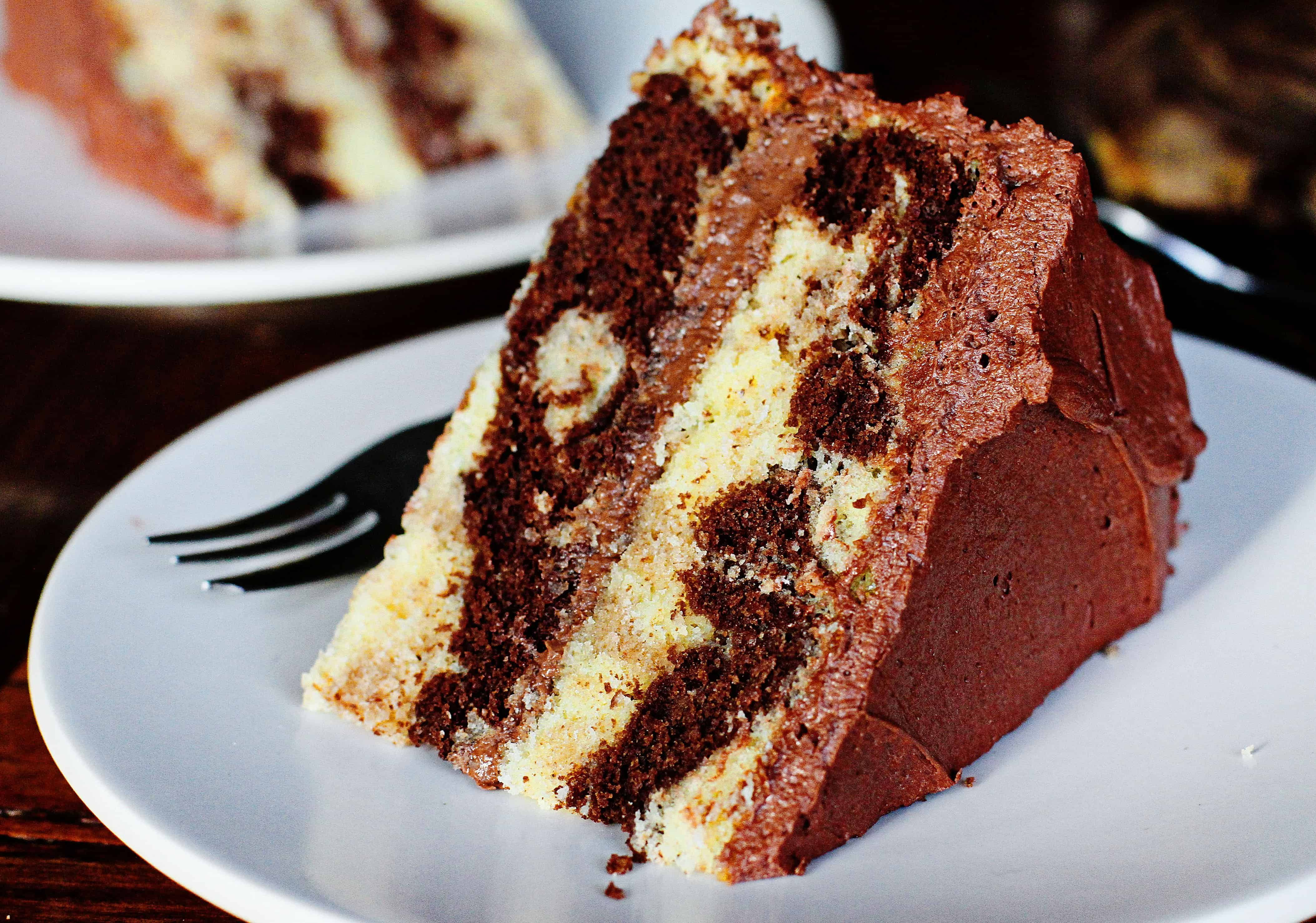easy and delicious Marble Cake!SO easy and delicious Marble Cake!