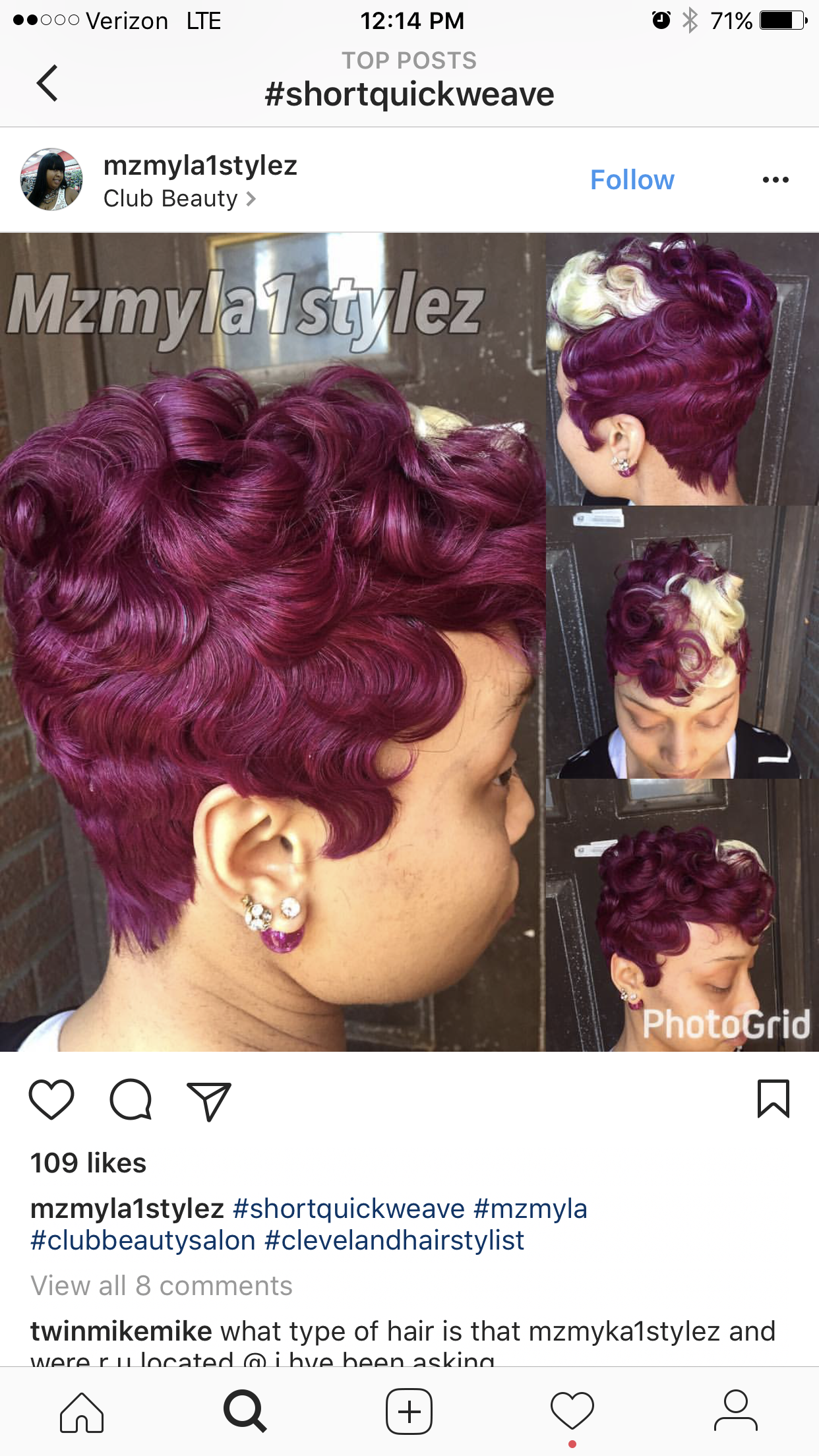 27 piece short hairstyle | fierce hair, lawd to the gawds in