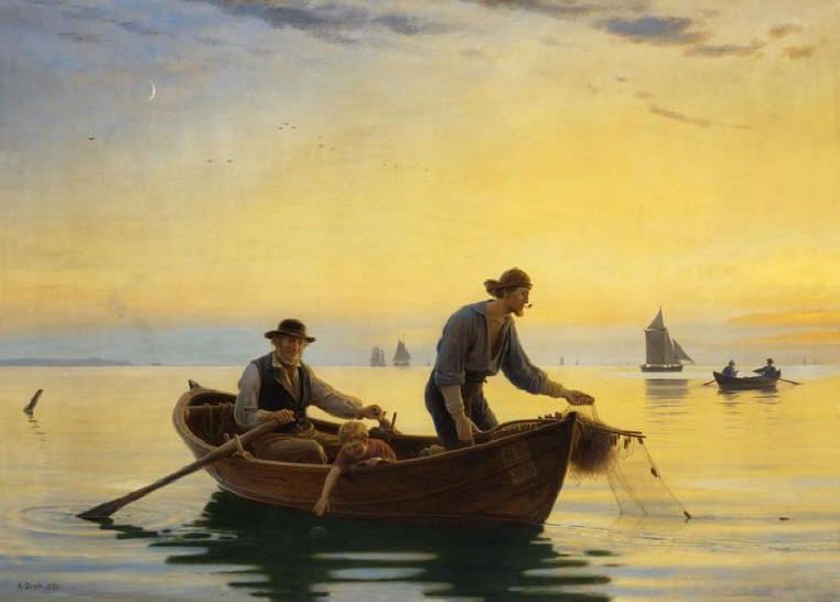 Anton Dorph - Fishermen