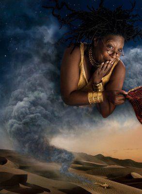The Genie, Whoopi Goldberg     PHOTO:   Annie Leibovitz's Disney Dreams Photos - Annex - Series III - 2008