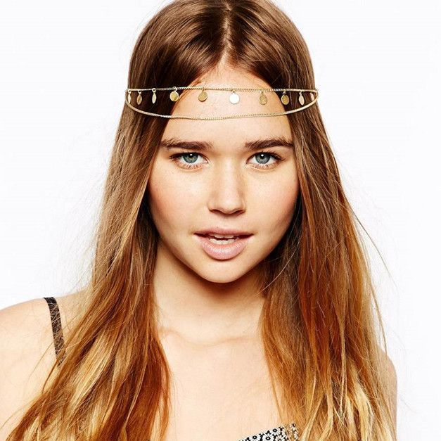 Chain Headband, Head piece from Hypnotique by SwagDeals.me