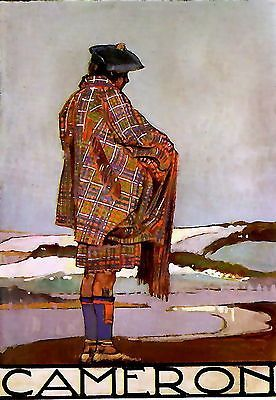 'Clan Cameron Tartan And Sporran' Photographic Print by ...