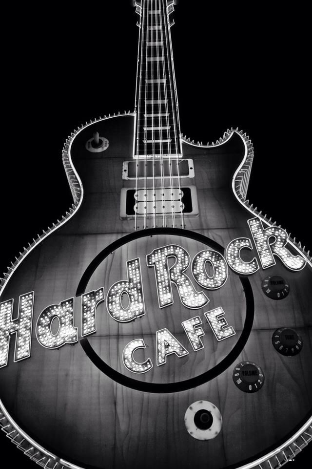 Rock And Roll Music Wallpaper Iphone Music Hard Rock Cafe