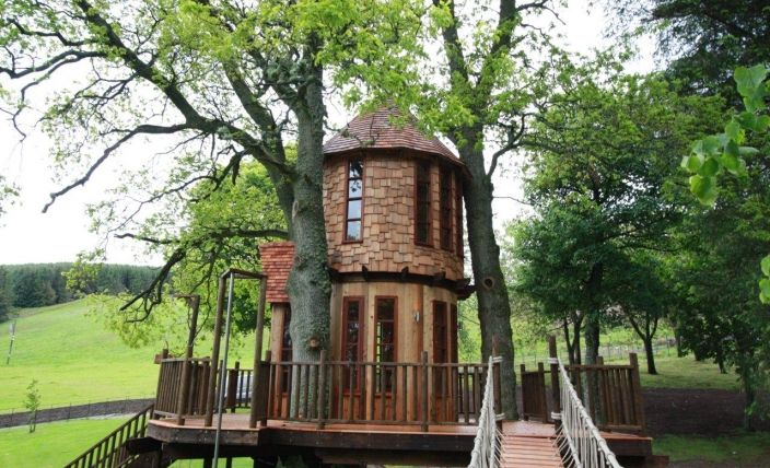 Fairytale Tree House / Blue Forest Tree Houses, Eco-lodges and Sustainable Buildings