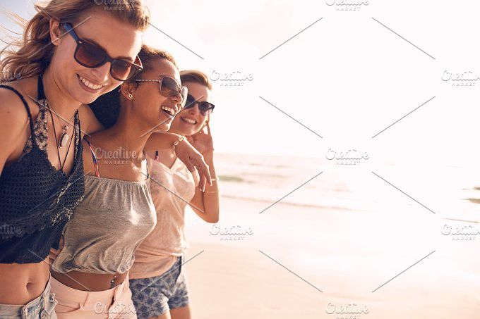 Group of young women. People Photos