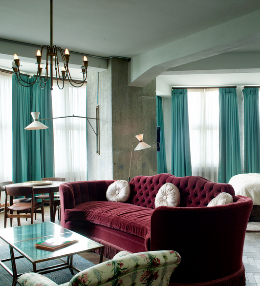 Maroon Grey And White Living Room: Burgundy And Turquoise Living Room