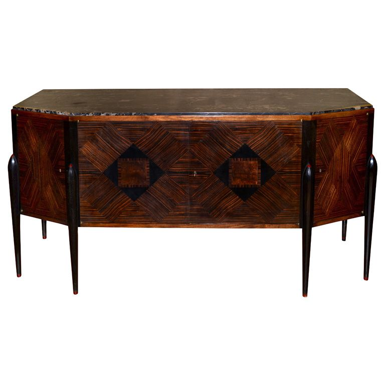1920s buffet in the style of jacques emile ruhlmann art d co pinterest art d co mobilier. Black Bedroom Furniture Sets. Home Design Ideas