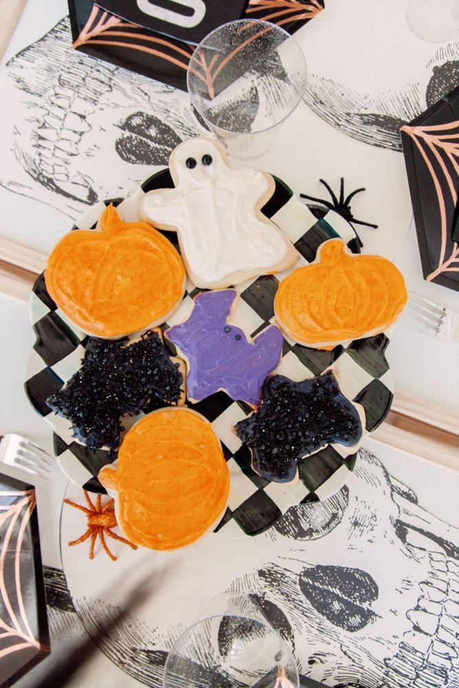 Halloween Sugar Cookies #halloweensugarcookies