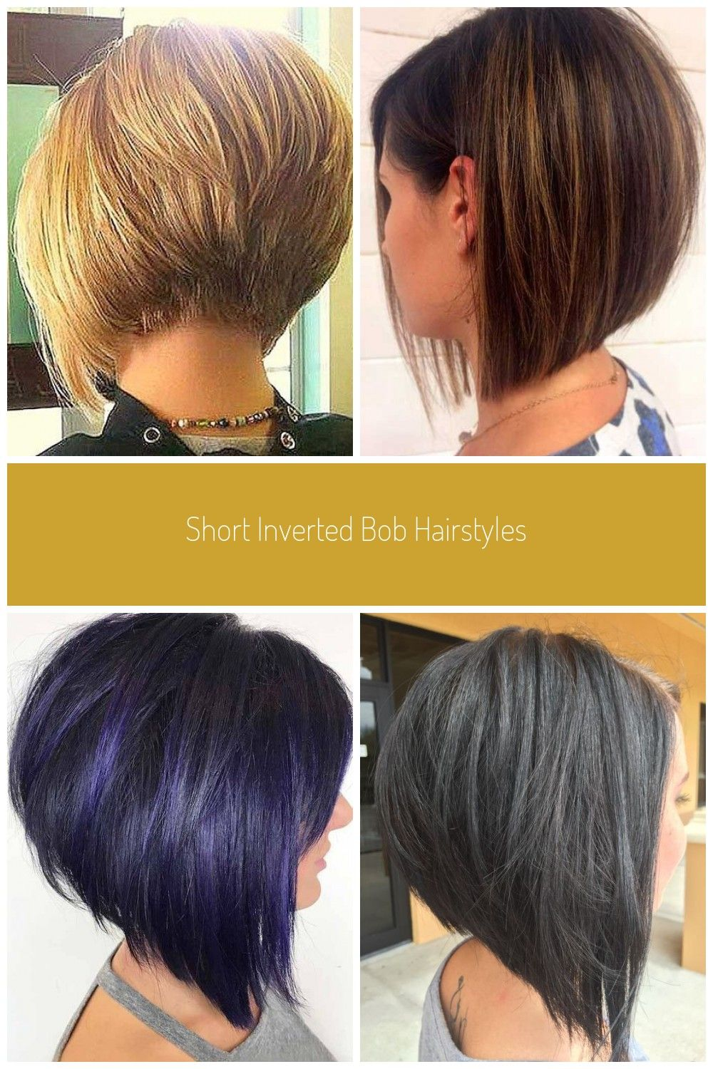 Stacked Bob Short Inverted Bob Hairstyles Inverted Bob Short Inverted Bob Hairstyles The Undercut In 2020 Inverted Bob Hairstyles Bob Hairstyles Wavy Bob Hairstyles