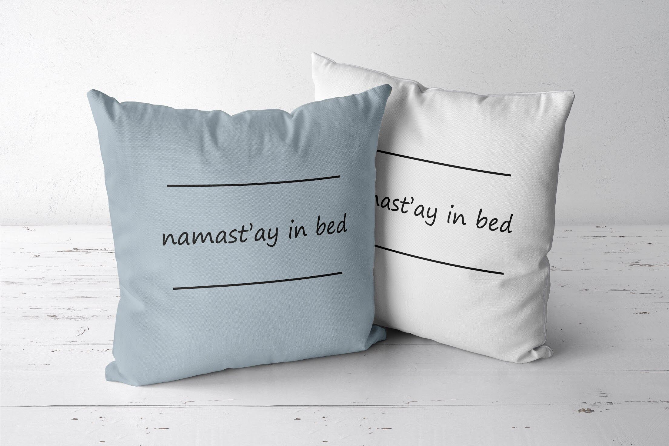 Namaste Pillow Sleep Throw Pillow Pillow With Sayings Yoga