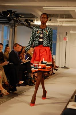 I have a tendency to dress twice my age so I am obviously loving this ensemble from Oscar De La Renta's 2012 Resort collection #oscardelarenta