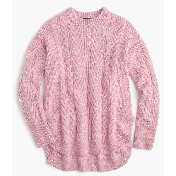 J.Crew Collection Italian cashmere-mohair tunic sweater ($525 ...