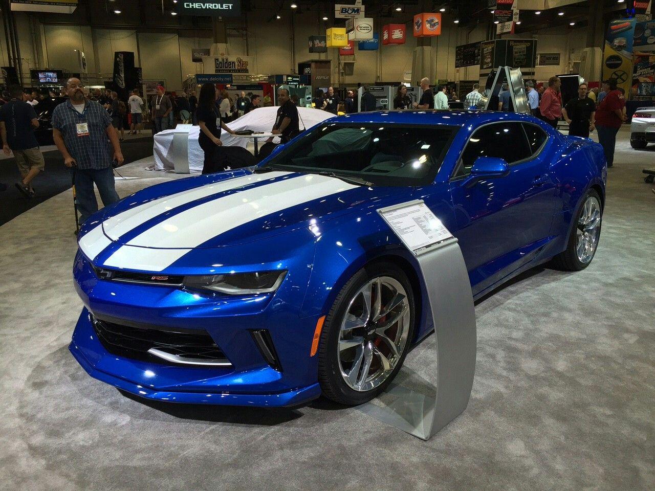 2016 Camaro Ss In Hyper Blue Metallic More