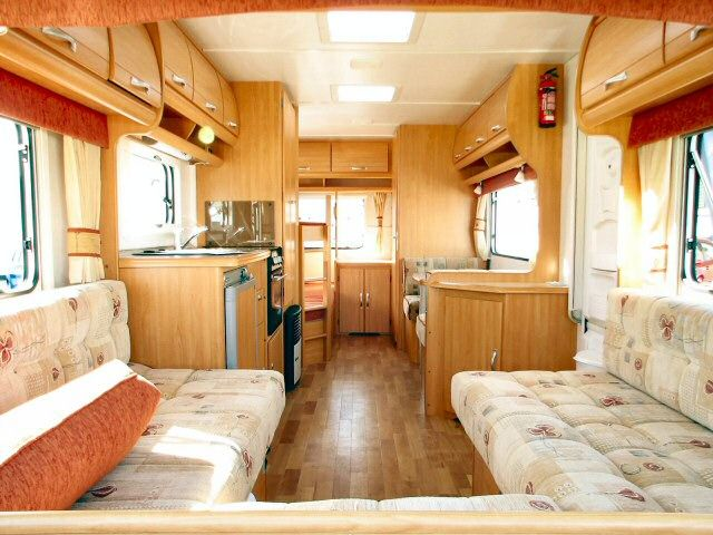 Caravan interior curtains and blinds caravans for Interior caravan designs