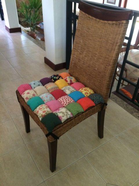 Almofadas Para Cadeiras 50 Modelos Lindos E Passo A Passo Com