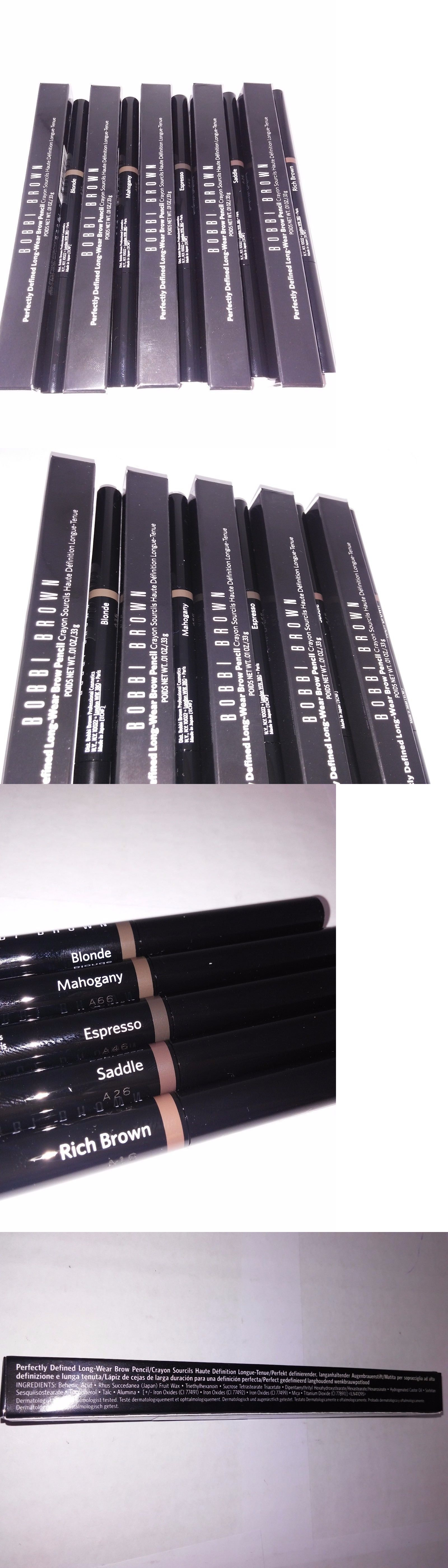Eyebrow Liner and Definition: Bobbi Brown Perfectly Defined Long ...