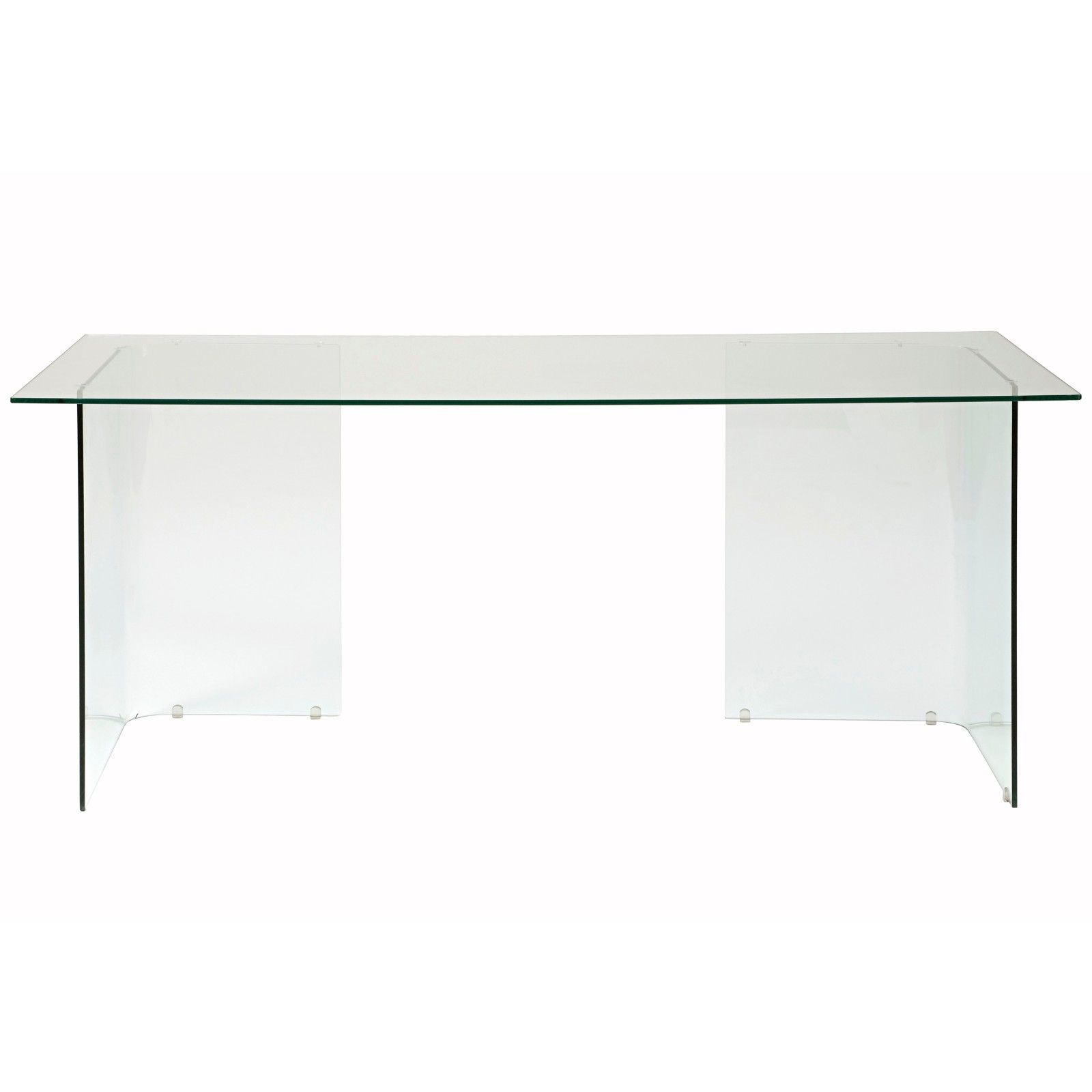 office furniture john lewis. Buy John Lewis Staten 140 Clear Glass Top Desk With Trestles Online At Johnlewis. Office Furniture