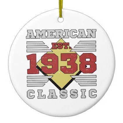 Pillow Box Basteln 1938 ceramic ornament