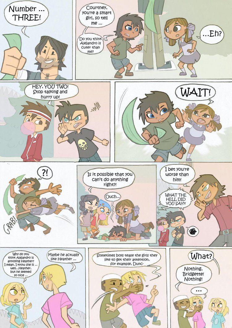 Total Drama Kids Comic Pag 20 By Kikaigaku On Deviantart