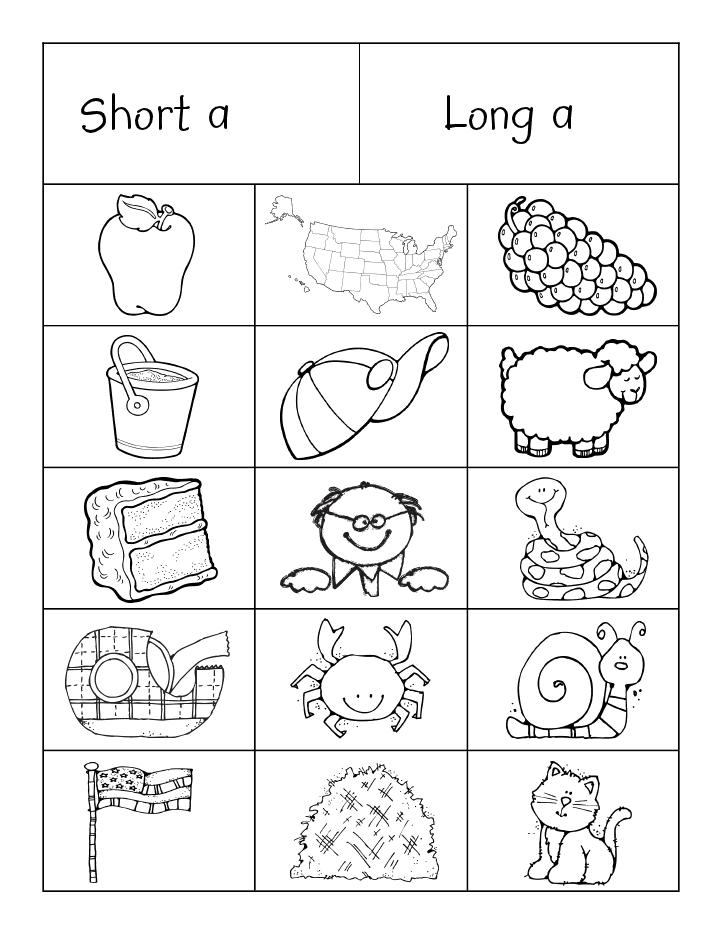 Long Short Vowels Sort Pdf Google Drive Phonics Kindergarten Phonics Words School Reading