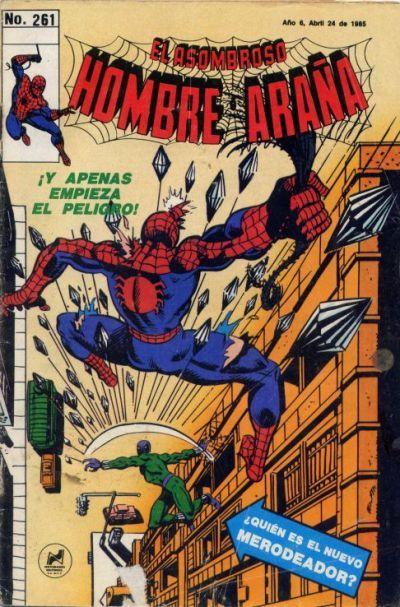 Cover for El Asombroso Hombre Araña (Novedades, 1980 series) #261