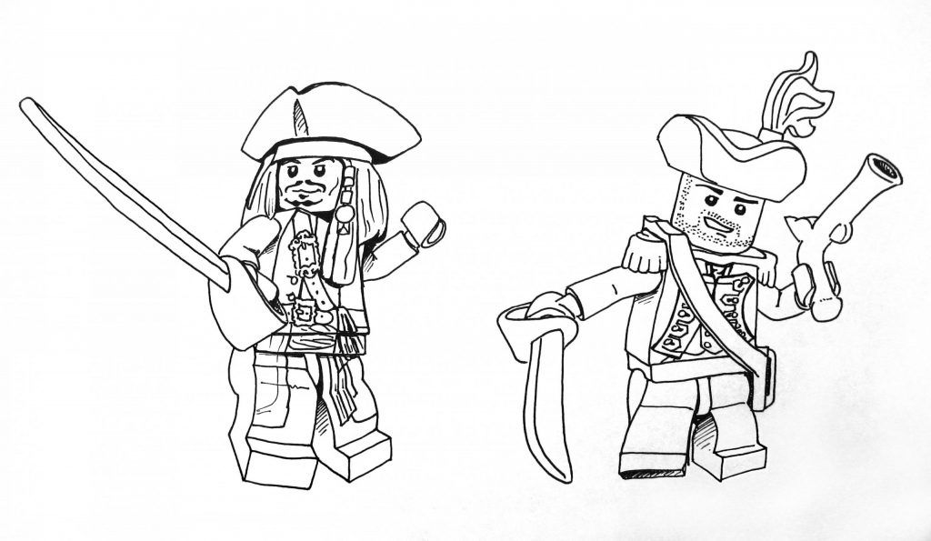 Coloriage Lego City 83 Images Coloring Pages Lego Pirates