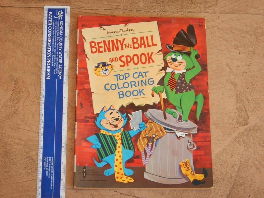 1962 HANNA BARBERA BENNY THE BALL AND SPOOK