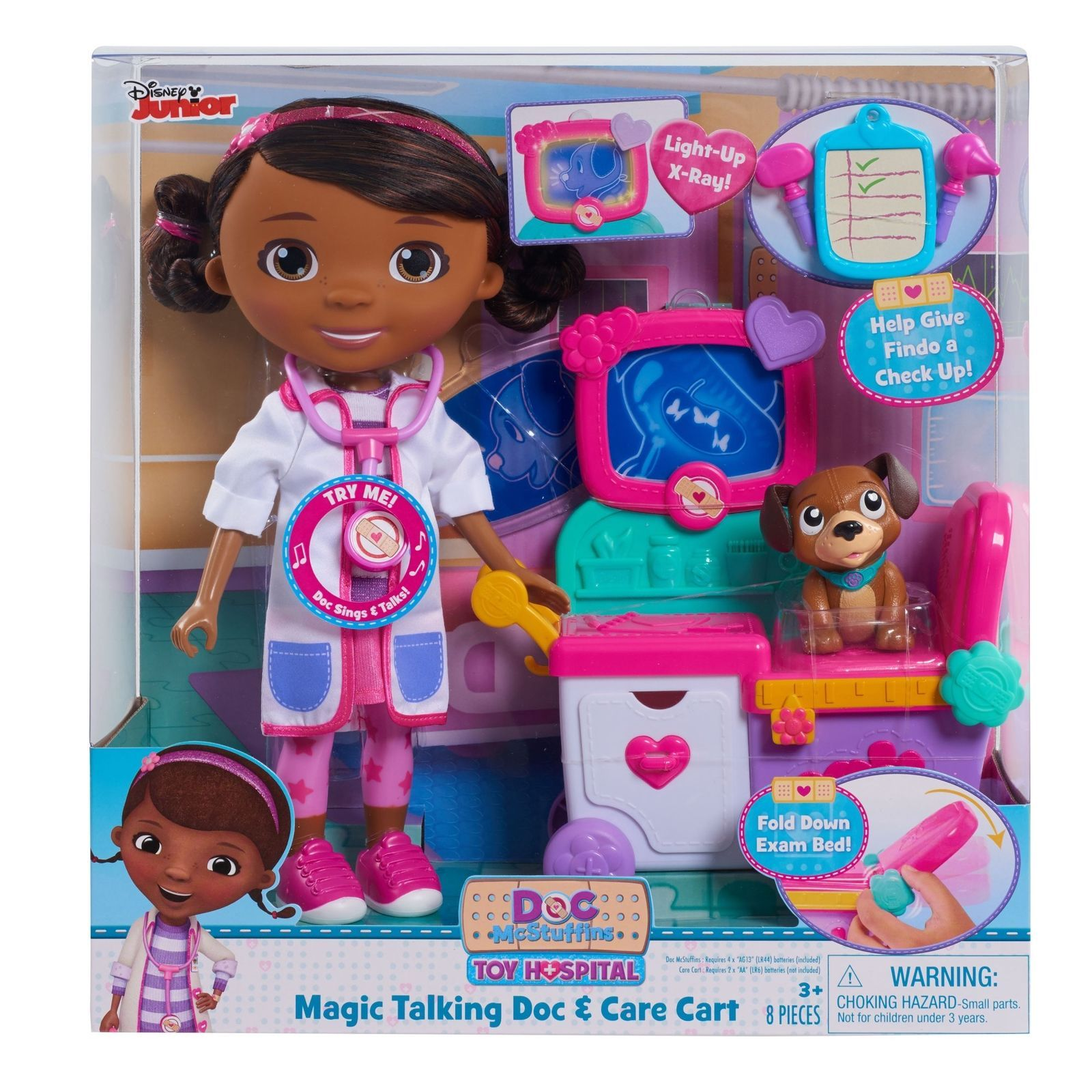 2e12e273601 New Just Play Doc McStuffins Magic Talking Doc   Care Cart Perfect Toys For  Kids