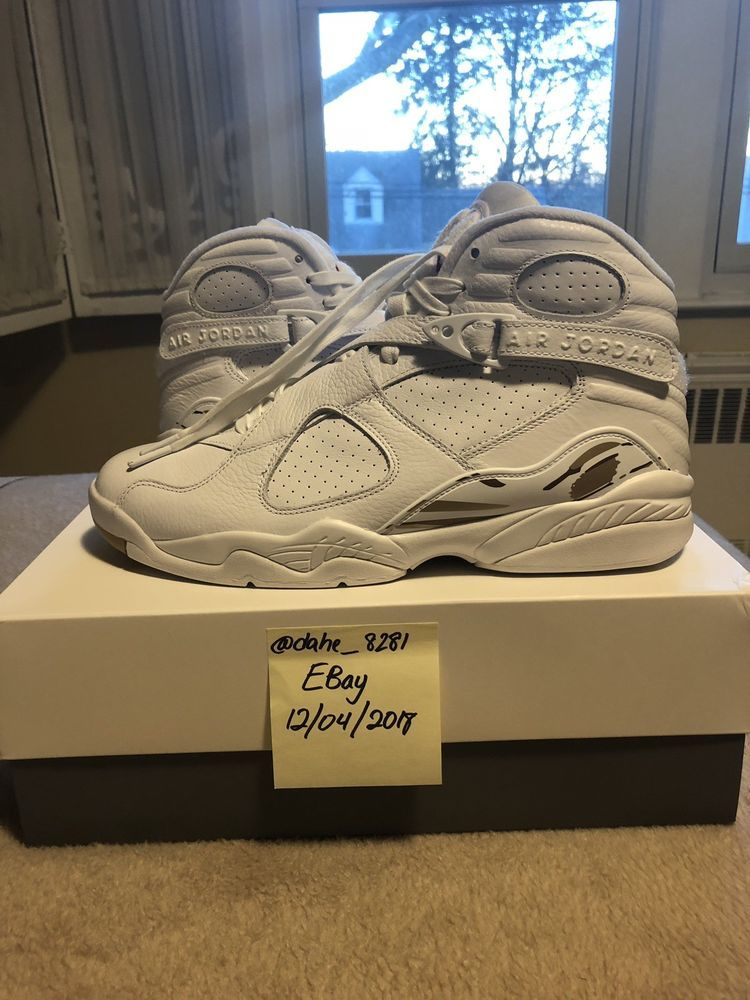 low priced b3e8a d1185 Air Jordan 8 Retro OVO White-Deadstock-US Mens Size 11 ...