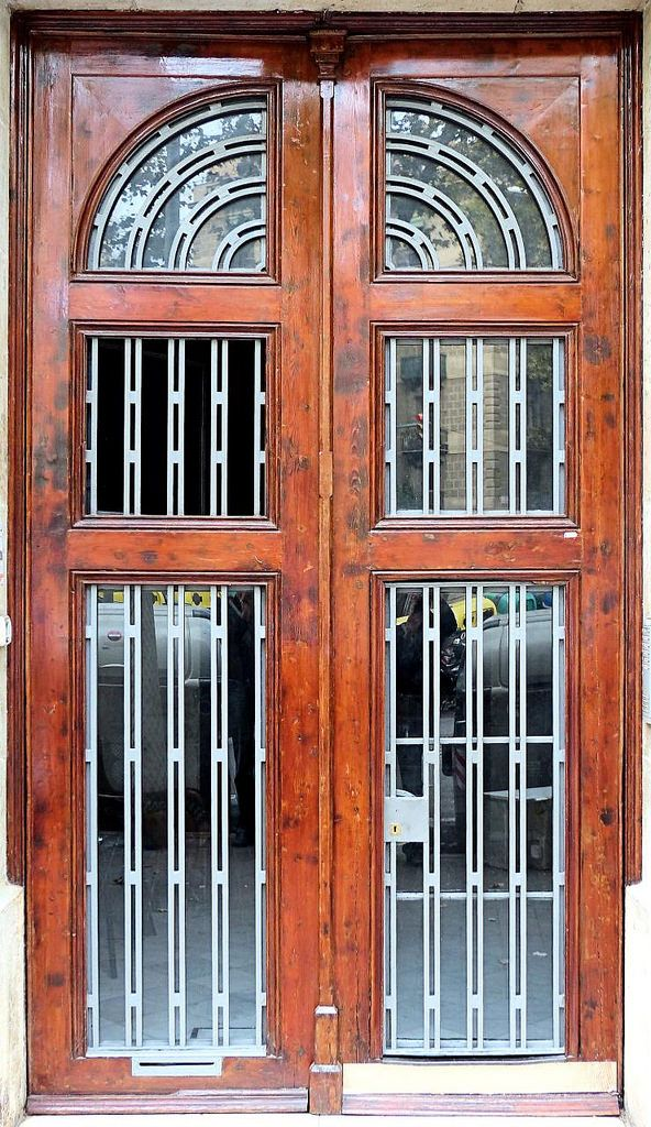 Two Halves Make A Very Stately Door