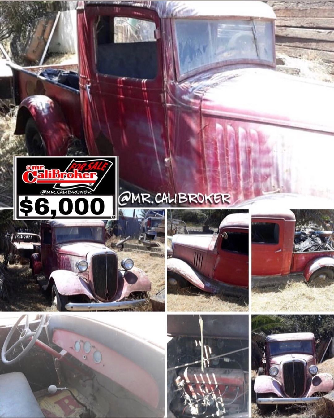 mr.calibroker 4sale forsale 1933 Chevy truck Good