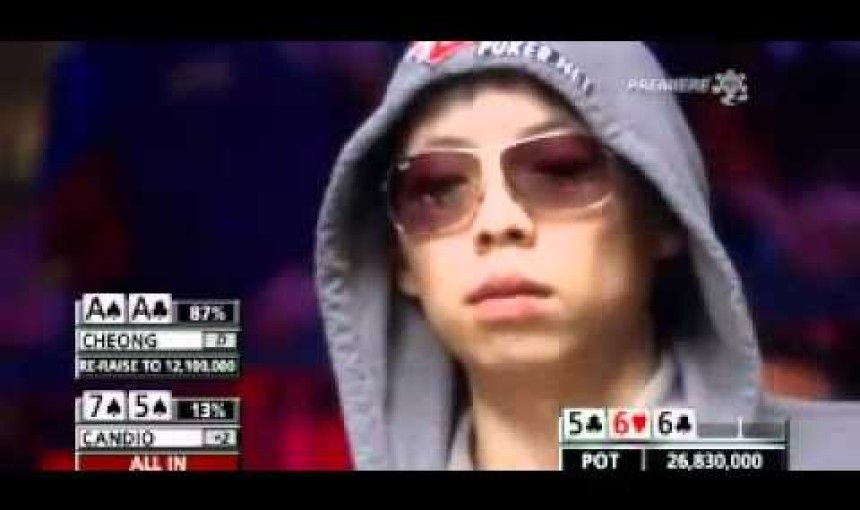 Funniest outburst in poker ever! 26 MILLION WON!
