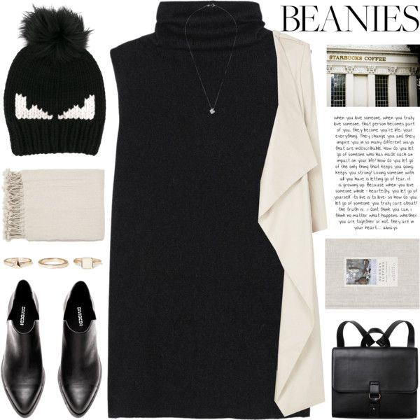 Untitled #1111 by chantellehofland on Polyvore featuring The Row, sass & bide, Monki, Warehouse, Fendi and Surya
