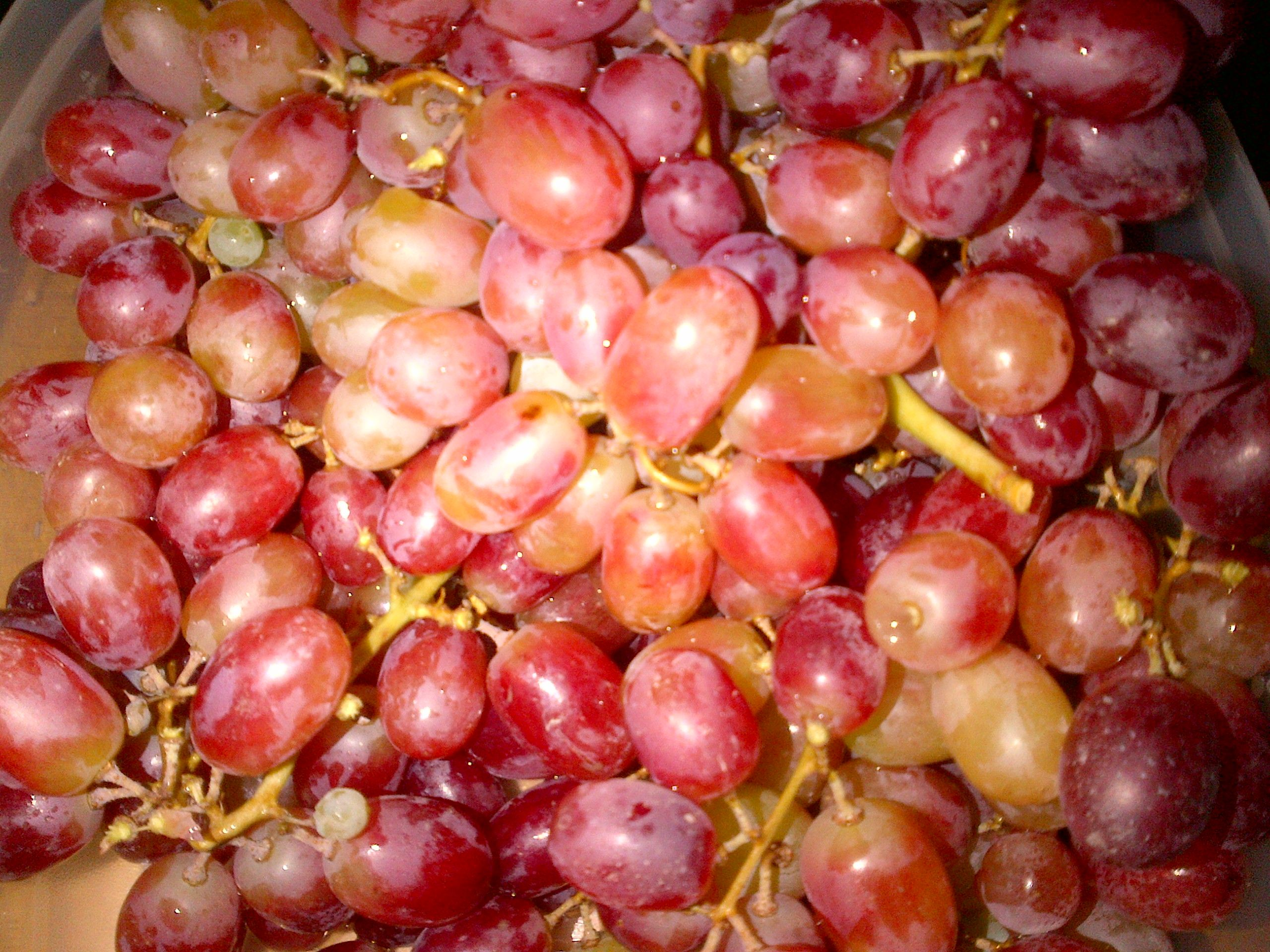 Cuban Tradition = Eat 12 grapes just after midnight on New