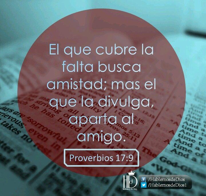 Proverbios 17:9