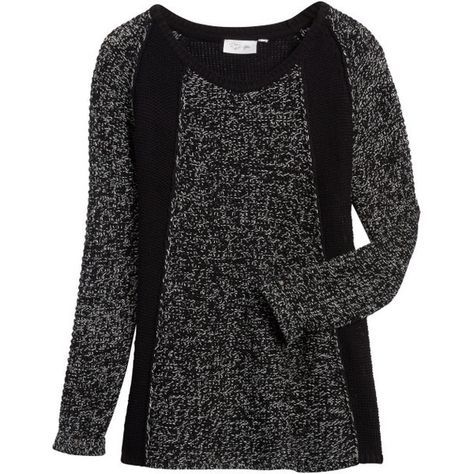RD Style Carlynn Mixed Material Pullover Sweater. Love this ...