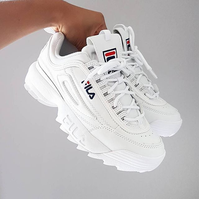 Fila Disruptor White | UK4-7 no halves @ £75 | Shop ...