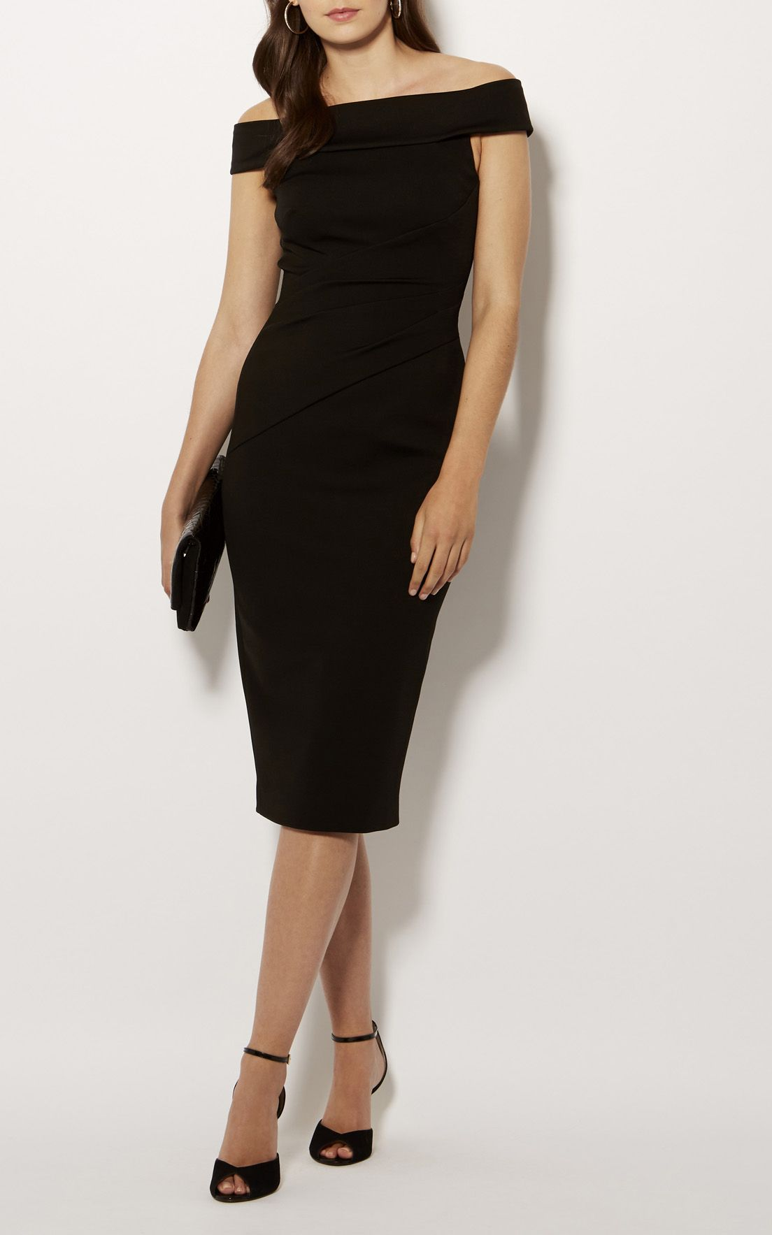 Karen millen black dress 2018 super