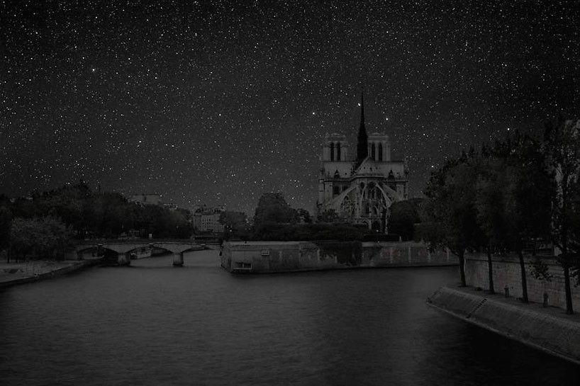 """""""Darkened Cities"""" de Thierry Cohen: como veríamos nossas cidades sem luz à…"""