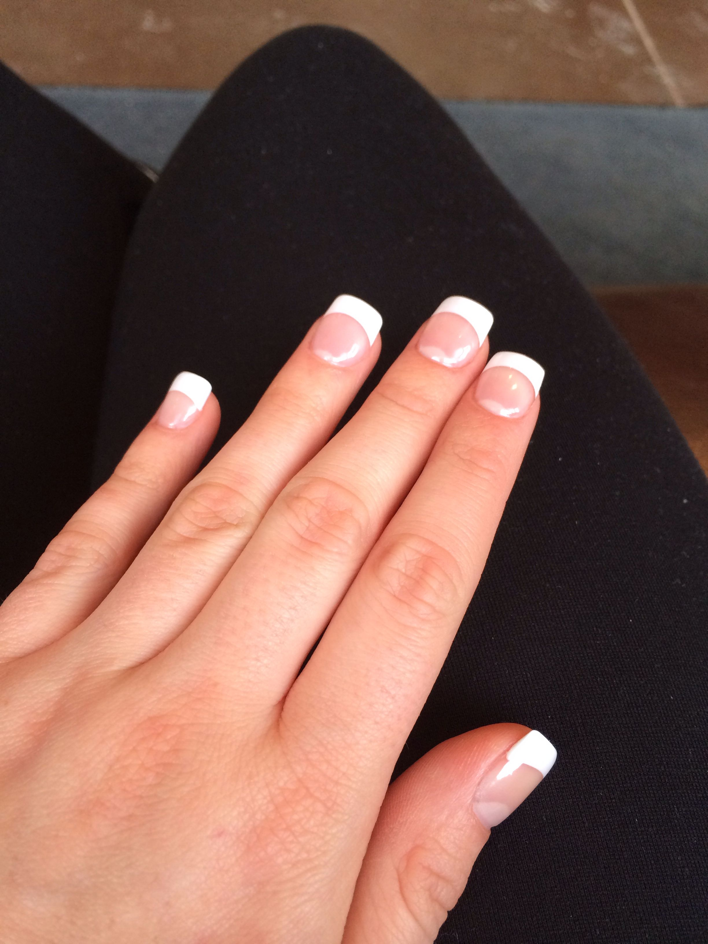 French gel nails! Love! | Nails | Pinterest | Pedicures, Manicure ...
